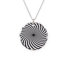 Hypnotic Spiral Necklace