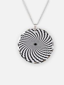 Hypnotic Spiral Necklace