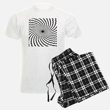 Hypnotic Spiral Pajamas