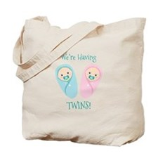 Were Having TWINS! Tote Bag