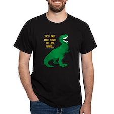 8 Bit T-Rex Short Arms T-Shirt
