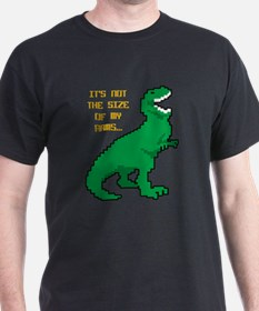 8 Bit T-Rex Short Arms T-Shirt