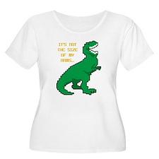 8 Bit T-Rex S T-Shirt