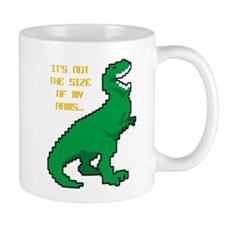 8 Bit T-Rex Short Arms Mug