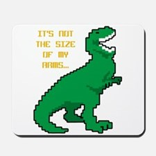 8 Bit T-Rex Short Arms Mousepad