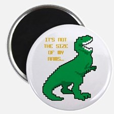 8 Bit T-Rex Short Arms Magnet