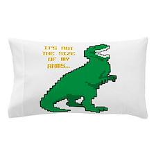 8 Bit T-Rex Short Arms Pillow Case