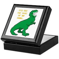 8 Bit T-Rex Short Arms Keepsake Box