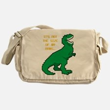 8 Bit T-Rex Short Arms Messenger Bag