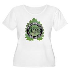Catnip Growers Plus Size T-Shirt