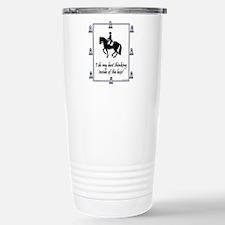 dressage box white Travel Mug