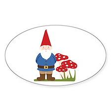 Garden Gnome Decal