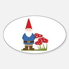 Garden Gnome Decal