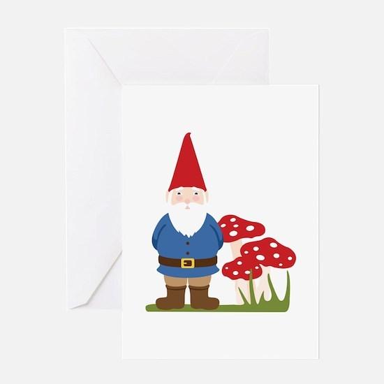 Garden Gnome Greeting Cards