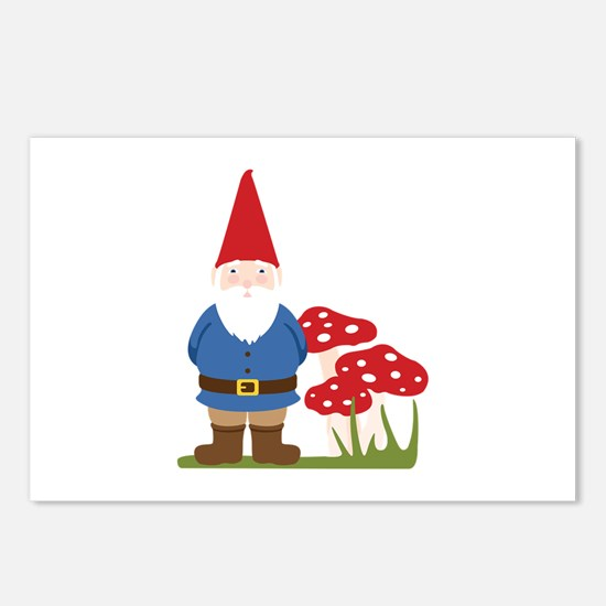 Garden Gnome Postcards (Package of 8)