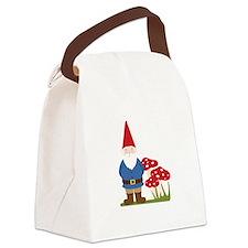 Garden Gnome Canvas Lunch Bag
