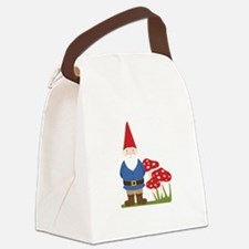 Garden Gnome Canvas Lunch Bag