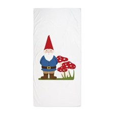 Garden Gnome Beach Towel