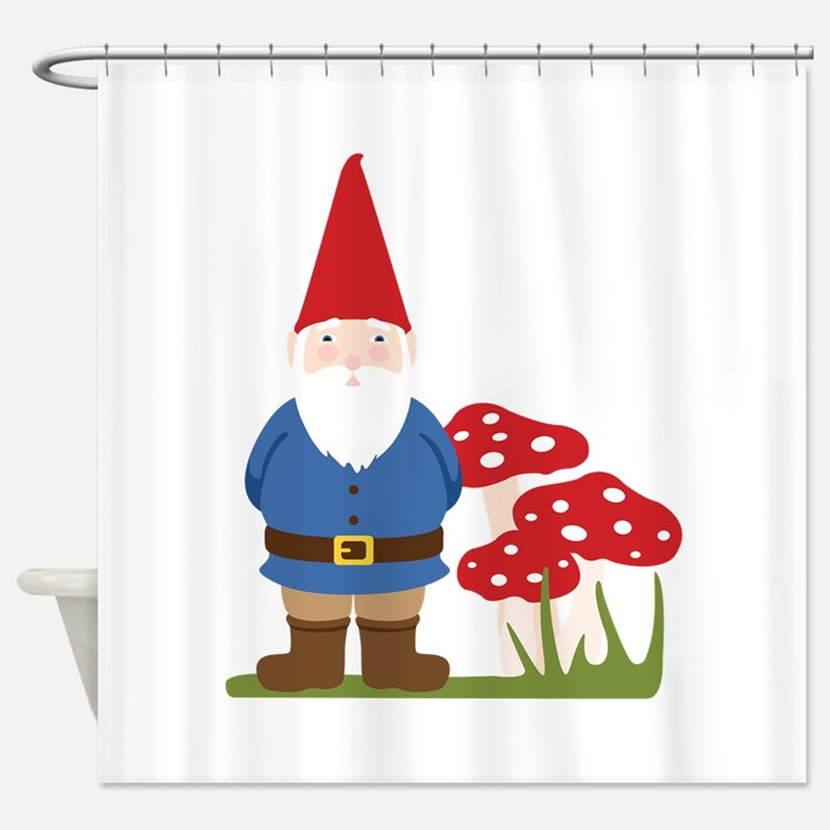 Gnome bathroom accessories decor cafepress for Gnome 3 decoration fenetre