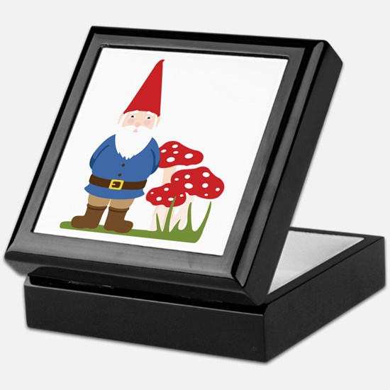 Garden Gnome Keepsake Box
