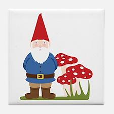 Garden Gnome Tile Coaster