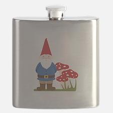 Garden Gnome Flask
