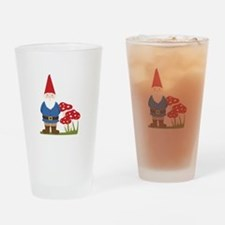 Garden Gnome Drinking Glass