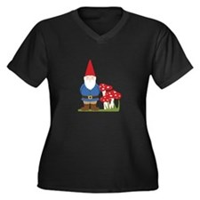 Garden Gnome Plus Size T-Shirt