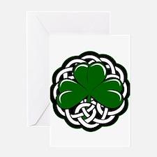 Celtic Shamrock Greeting Cards