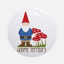 Gnome Territory Ornament (Round)