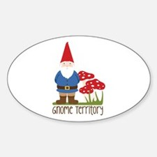 Gnome Territory Decal