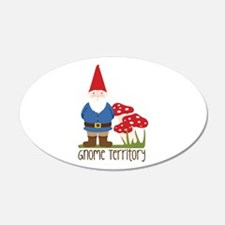 Gnome Territory Wall Decal