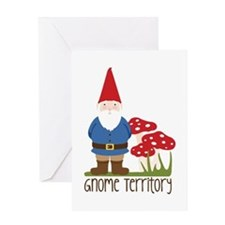 Gnome Territory Greeting Cards