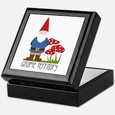 Gnome Territory Keepsake Box