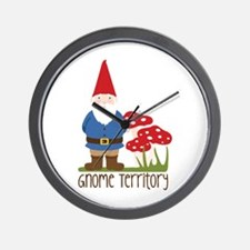 Gnome Territory Wall Clock