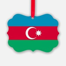 Azerbaijan Flag Ornament