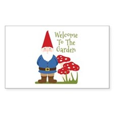 Welcome to the Garden Decal