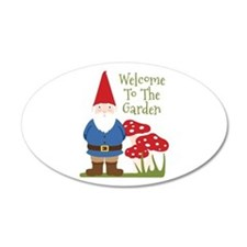 Welcome to the Garden Wall Decal