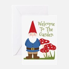 Welcome to the Garden Greeting Cards
