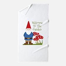 Welcome to the Garden Beach Towel