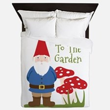 Welcome to the Garden Queen Duvet