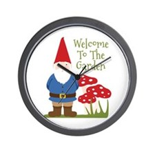 Welcome to the Garden Wall Clock