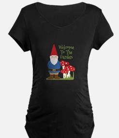 Welcome to the Garden Maternity T-Shirt
