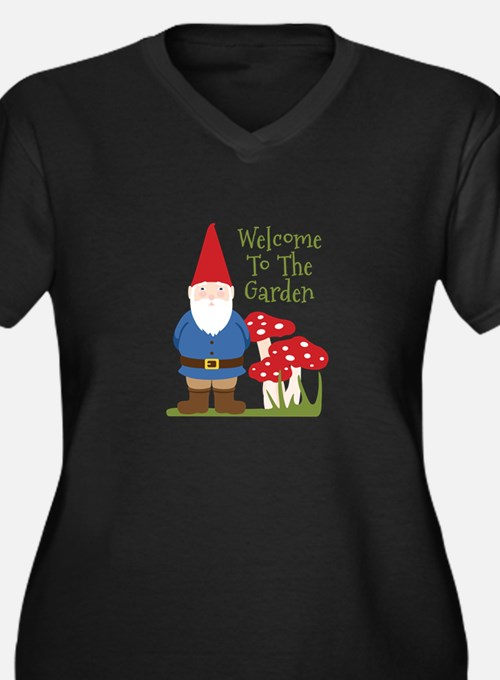 Welcome to the Garden Plus Size T-Shirt