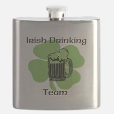Irish Drinking Team Flask