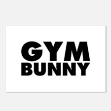 Gym Bunny Postcards (Package of 8)