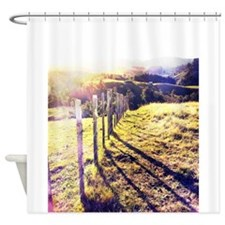 Fenceline Shower Curtain