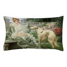 Cute Borzoi Pillow Case