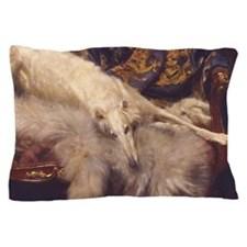 Cute Borzoi Pillow Case
