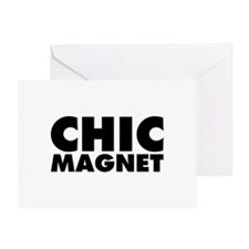 ChicMagnet Greeting Card